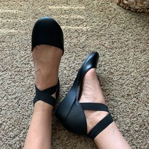 Ballet style wedges